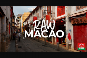 Visit Macao – Return Flights to Macao for a Four Day Photography Masterclass With Richard I'anson (prize valued at $9,805)