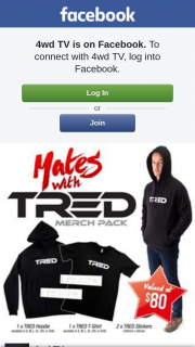 4wd Tv – Win a Mates With Tred Merchandise Pack