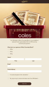 Whittaker's Chocolates – Some By Answering this Question