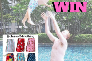 Win a Matching Set of Boardies for Dad and Your Little Person