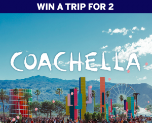 American Express – Win a Coachella 2020 travel prize package for 2