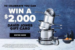 Anolon – Win a $2,000 David Jones gift cards