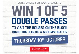 Beacon Lighting – The Block – Win 1 of 5 double passes to an exclusive tour of The Block (flights and accommodation included)