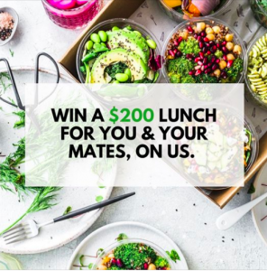 Catering Project – Win a free lunch