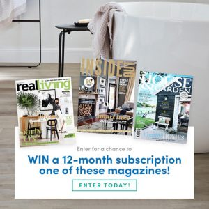 Choices Flooring – Win 1 of 5 12-month subscriptions to home decoration magazines