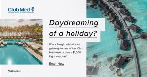 French Connection – Win a 7-night accommodation at Club Med for 4