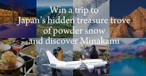 G'Day Japan – Win a trip and accommodation for 2 to Minakami Town, Japan