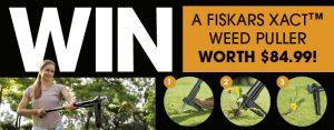 Gardening – Win 1 of 5 Fiskars Xact Weed Pullers