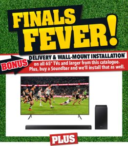 Harvey Norman – Win Footy Finals Catalogue – Win an NRL Grand Final Experience for 2 (flight and accommodation included)