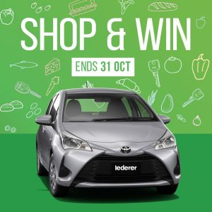 Imperial Centre Gosford – Win a major prize of a Toyota Yaris OR 1 of 10 minor prizes