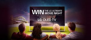 LG Electronics Australia – Win the ultimate LG movie night event for 4 people and more
