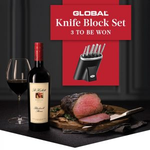 Liquor Marketing Group – Win 1 of 3 Global Knife Block sets valued at $999 each