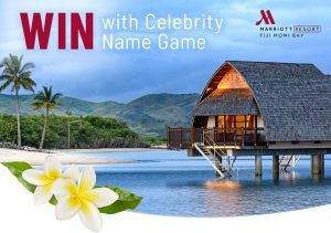 Network 10 – Celebrity Name Game – Win a travel prize package for 4 to Nadi Fiji