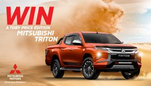 Network Ten – Win a Mitsubishi Triton Automatic