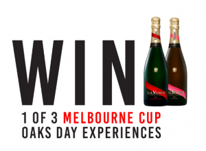 Pernod Ricard Winemakers – Win 1 of 3 trips for 2 to Oaks Day in Melbourne