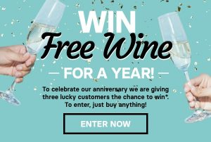 The Wine Collective – Win 1 of 3 prizes of free wine for a year