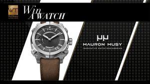 WorldTempus – Win a watch from Maron Musy Mu