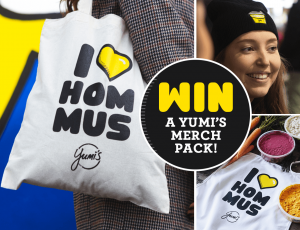 Yumi's Quality Foods – Win 1 of 10 Hommus prize packs