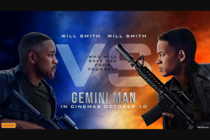 Access Reel – 5 X Double Passes to The Perth Preview of Gemini Man at Event Cinemas Innaloo on Wednesday October 2 With a 6.30pm Start