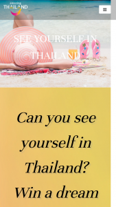 Amazing Thailand – Win a Trip to Thailand for Two