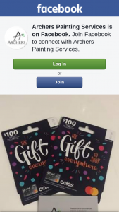 Archers Painting Services – Win $200 Dollars (prize valued at $200)