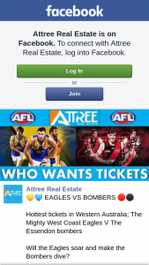 Attree Real Estate – Win 2x Seats to See West Coast Eagles Vs Essendon Bombers on Thursday 5th September 2019.