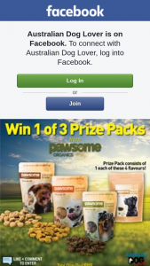 Australian Dog Lover – Win 1 of 3 Pawsome Organics Treat Packs ($71.60 Each) With