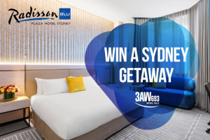 3AW – Win this Mini Getaway (prize valued at $2,200)