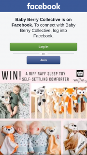 Baby Berry Collective – Win a Riff Raff Self-Settling Comforter