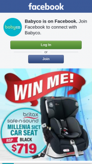 Babyco – Win Me Win Me Win Me (prize valued at $719)