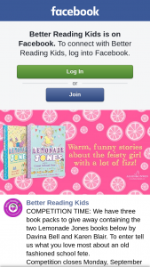 Better Reading Kids – Containing The Two Lemonade Jones Books Below By Davina Bell and Karen Blair