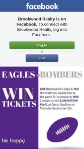 Brookwood Realty – Win 2 Tickets to The Elimination Final at Optus Stadium on Thursday