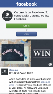 Caroma – Win One of Two Nudie Rudie Bath Mats (prize valued at $79.95)