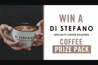 Channel 7 – Sunrise – Win One of Five Di Stefano Specialty Coffee Prize Packs In this Week's Sunrise Family Newsletter