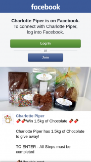 Charlotte Piper – Win a 1.5kg of Chocolate