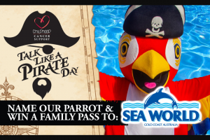 Childhood Cancer Support – Win 1 of 2 Sea World Family Passes