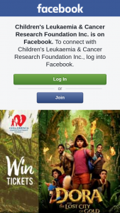 Children's Leukaemia & Cancer Research – Tickets to See Dora and The Lost City of Gold