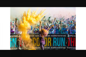 Community News – Win One of 10 Double Entries Into The Color Run Love Tour Perth on Sunday 20 October