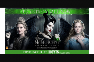 Community News – Win One of 50 Double Passes to Our Wicked Night-Before-Release Preview Screening of Disney's Maleficient