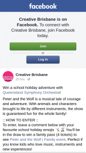 Creative Brisbane – Win a School Holiday Adventure With Queensland Symphony Orchestra