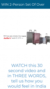 Deluxe Life – Win 2 Sets of Antler Viva Luggage (prize valued at $1,070)