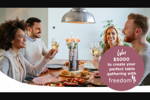 Edenvale – Win a $5000 Shopping Spree at Freedom Furniture (prize valued at $7,500)