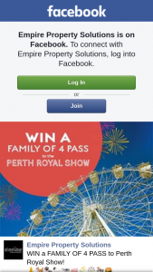 Empire Property Solutions – Win a Family of 4 Pass to Perth Royal Show
