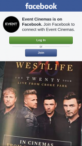 Event Cinemas – Win 1 of 4 Limited #westlife Posters