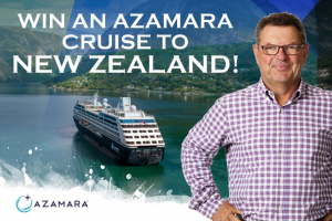 2GB – Win an Azamara Club Cruise (prize valued at $10,729)