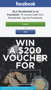 GLC Residential – Win a $200 Voucher (prize valued at $200)