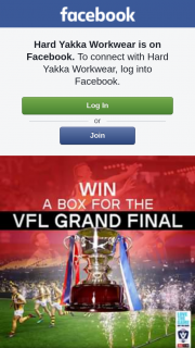 Hard Yakka Workwear – Win You and Your Mates a Fully Catered Suite to Watch The Hard Yakka/ Totally Workwear Vfl Love The Game Grand Final at Ikon Park (prize valued at $3,950)