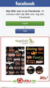 Hip Little One – Win 1 of 3 'going to The Footy' Prize Packs (RRP $60) Containing a Copy of The Book