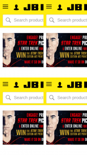 JB HiFi Pre-order a copy of Star Trek – Win The Star Trek Limited Number Edition Art Print Box Set (prize valued at $150)