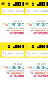 JB HiFi Pre-Order Five Bedrooms for chance to – Win a $500 Matt Blatt Voucher (prize valued at $500)
